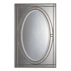 Buy Uttermost Earnestine 44x29 Wall Mirror in Silver on sale online