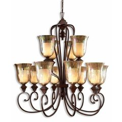 Buy Uttermost Elba 12 Light Chandelier in Bronze on sale online