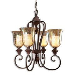 Buy Uttermost Elba 4 Light Chandelier on sale online