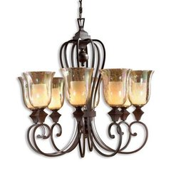 Buy Uttermost Elba 8 Light Chandelier in Bronze on sale online