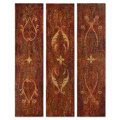 Buy Uttermost Elegant Panels 60x15 Wall Art (Set of 3) on sale online