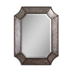 Buy Uttermost Elliot 32x24 Wall Mirror in Rust Brown on sale online