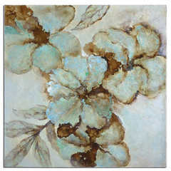 Buy Uttermost Fairy Blooms 40 Inch Square Floral Art on sale online