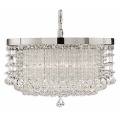 Buy Uttermost Fascination Crystal Hanging Shade 3 Light Chandelier on sale online