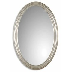 Buy Uttermost Franklin Oval 31x21 Wall Mirror in Silver on sale online