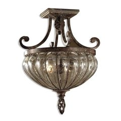 Buy Uttermost Galeana 2 Light Semi Flush Mount on sale online
