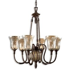 Buy Uttermost Galeana 6 Light Chandelier in Silver on sale online