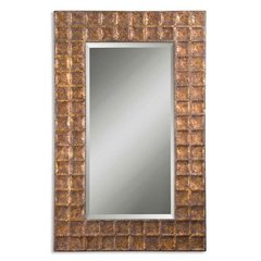Buy Uttermost Gavino 67x42 Wall Mirror in Antique Gold on sale online