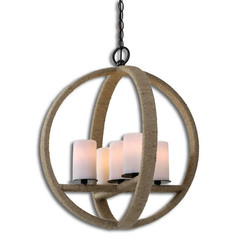 Buy Uttermost Gironico Round 5 Light Pendant on sale online