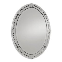 Buy Uttermost Graziano Oval 34x25 Wall Mirror on sale online