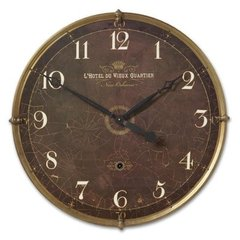 Buy Uttermost Hotel Du VIeux Quartier Clock on sale online