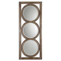 Buy Uttermost Isandro 71x28 Wall Mirror in Silver on sale online