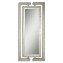 Buy Uttermost Jamal 76x34 Wall Mirror in Silver on sale online