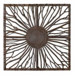 Buy Uttermost Josiah Square 27x27 Metal Art on sale online