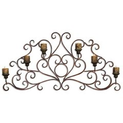 Buy Uttermost Juliana 58x28 Wall Art Sconce in Olive Bronze on sale online