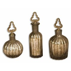 Buy Uttermost Kaho Perfume Bottles (Set of 3) on sale online