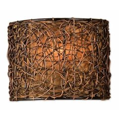 Buy Uttermost Knotted Rattan 1 Light Wall Sconce on sale online