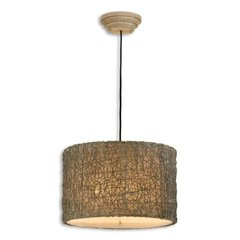 Buy Uttermost Knotted Rattan 3 Light Hanging Shade in Ivory on sale online