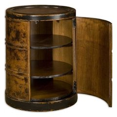 Buy Uttermost Lawton Drum Table on sale online