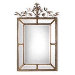Buy Uttermost Le Vau Vertical 63x41 Wall Mirror in Silver on sale online