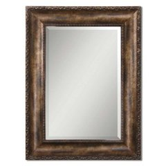 Buy Uttermost Leola 48x36 Wall Mirror in Antiqued Bronze on sale online
