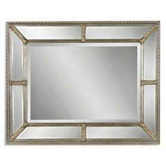 Buy Uttermost Lucinda 49x37 Wall Mirror in Antiqued Silver on sale online