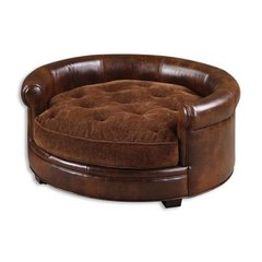 Buy Uttermost Lucky Pet Bed in Russet Brown on sale online