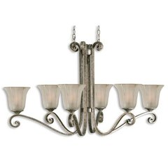 Buy Uttermost Lyon 6 Light Oval Chandelier on sale online