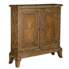 Buy Uttermost Maguire Console Cabinet on sale online