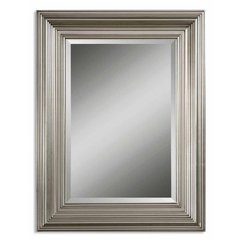 Buy Uttermost Mario 41x31 Wall Mirror in Silver on sale online