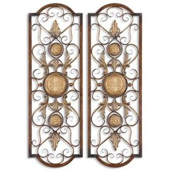 Buy Uttermost Micayla Panels 42x14 Wall Art (Set of 2) on sale online