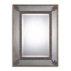 Buy Uttermost Michelina 40x30 Wall Mirror in Antique Gold on sale online