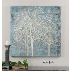 Buy Uttermost Muted Silhouette Canvas Art on sale online