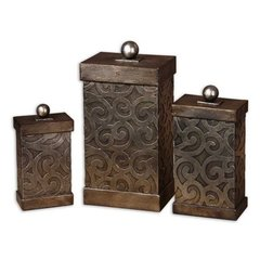 Buy Uttermost Nera Boxes (Set of 3) on sale online