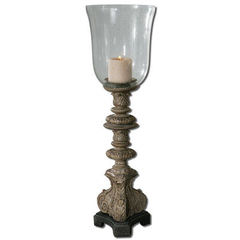 Buy Uttermost Nerio Candleholder in Rust Gray on sale online