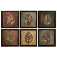 Buy Uttermost New Leaf Panel 13x13 Wall Art I, II (Set of 6) on sale online