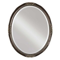 Buy Uttermost Newport Oval 31x25 Wall Mirror in Bronze on sale online