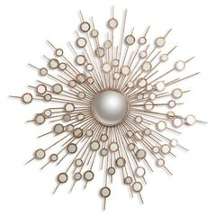 Buy Uttermost Raindrops Gold 63 Inch Round Wall Mirror in Antique Gold on sale online