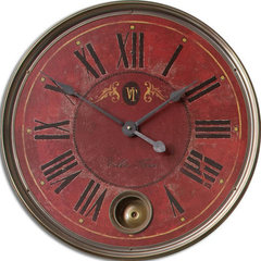 Buy Uttermost Regency VIlla Tesio Clock on sale online