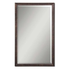 Buy Uttermost Renzo 32x20 Vanity Mirror in Bronze on sale online