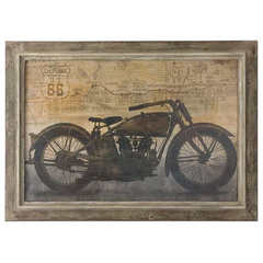 Buy Uttermost Ride 42x30 Rectangular Framed Art on sale online