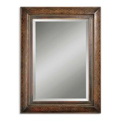 Buy Uttermost Rowena 40x30 Wall Mirror in Mahogany on sale online