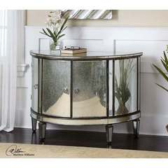 Buy Uttermost Sainsbury 42 Inch Mirrored Console Cabinet on sale online