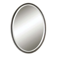 Buy Uttermost Sherise Oval 32x22 Wall Mirror in Oil Rubbed Bronze on sale online