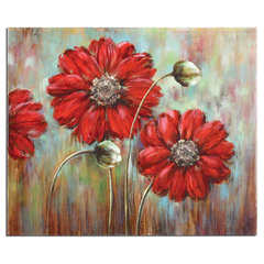 Buy Uttermost Shining Stars 48x40 Rectangular Floral Art on sale online
