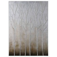 Buy Uttermost Sterling Trees 50x36 Canvas Art on sale online