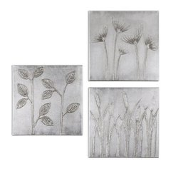Buy Uttermost Sterling Trio 20x20 Canvas Art (Set of 3) on sale online