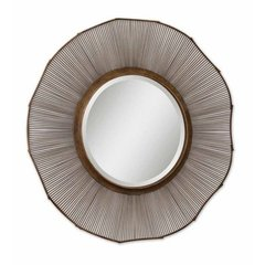Buy Uttermost Temecula 62 Inch Round Wall Mirror on sale online