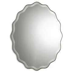Buy Uttermost Teodora 40x30 Wall Mirror in Antique Silver on sale online