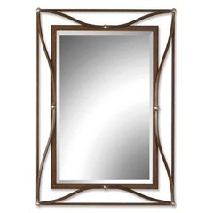 Buy Uttermost Thierry 38x28 Wall Mirror in Bronze on sale online